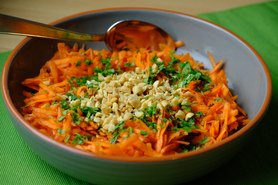 My Aunty's Carrot Salad
