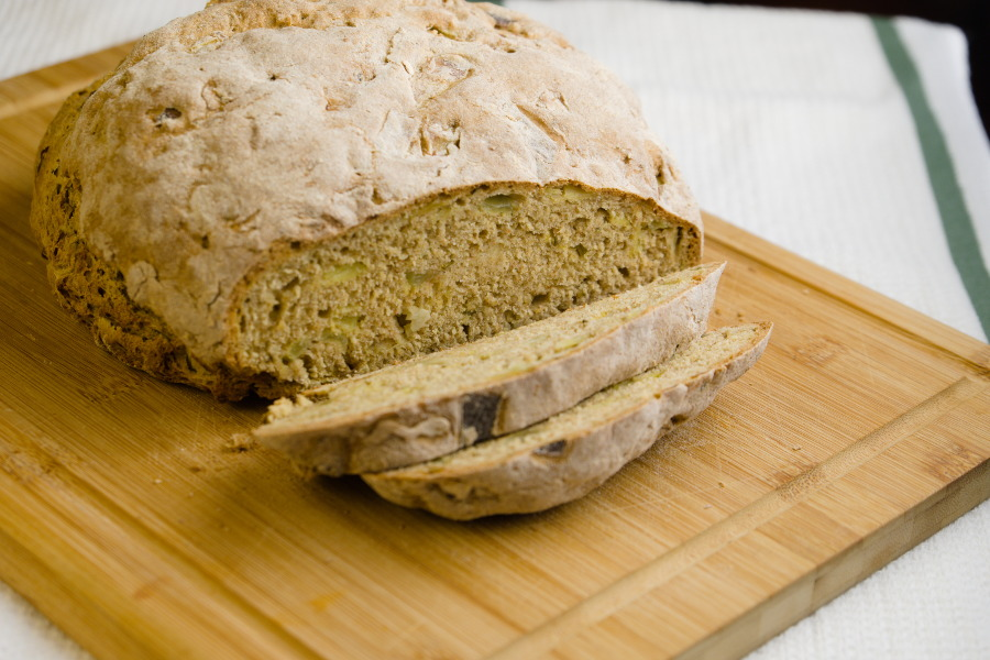 Rosemary and Onion Soda Bread